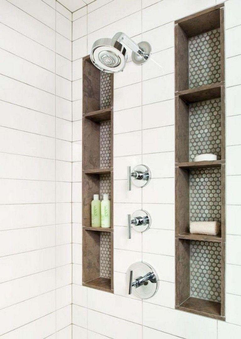 78+ Luxury Farmhouse Tile Shower Ideas Remodel images
