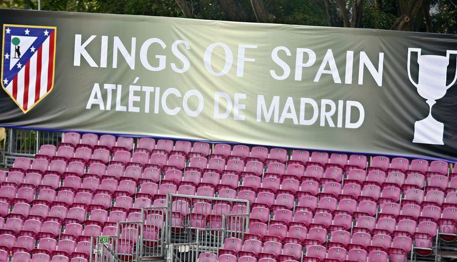 Club Atlético de Madrid · Web oficial Campeón de España