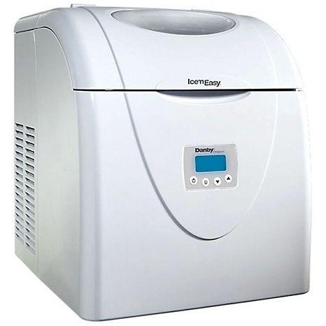 Ice N Easy Portable Ice Maker Portable Ice Maker Ice Maker White Refrigerator