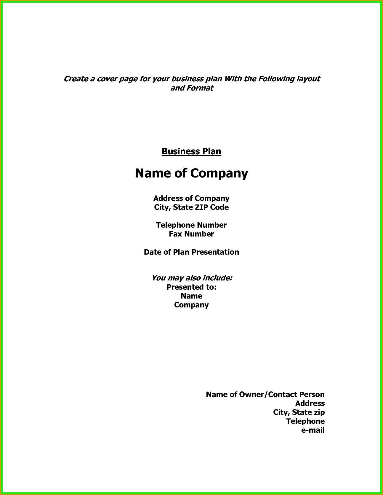 Business Plan Cover Page Template Unique Show Example Cover Page Business Plan Ver Lette Cover Page Template Cover Letter For Resume Business Proposal Template Business proposal cover page template