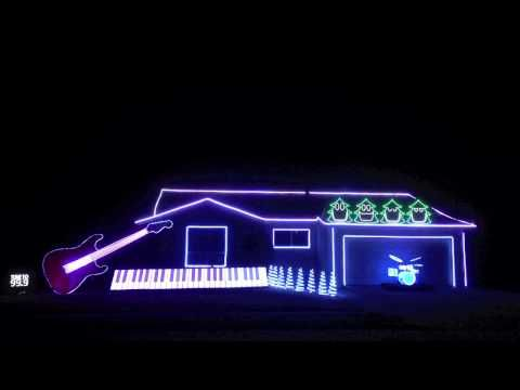 Amazing and Funny Christmas Light Show in Newark, California ...