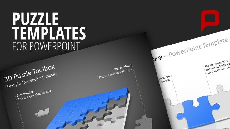 Puzzle PowerPoint Templates #presentationload http\/\/www - puzzle powerpoint template