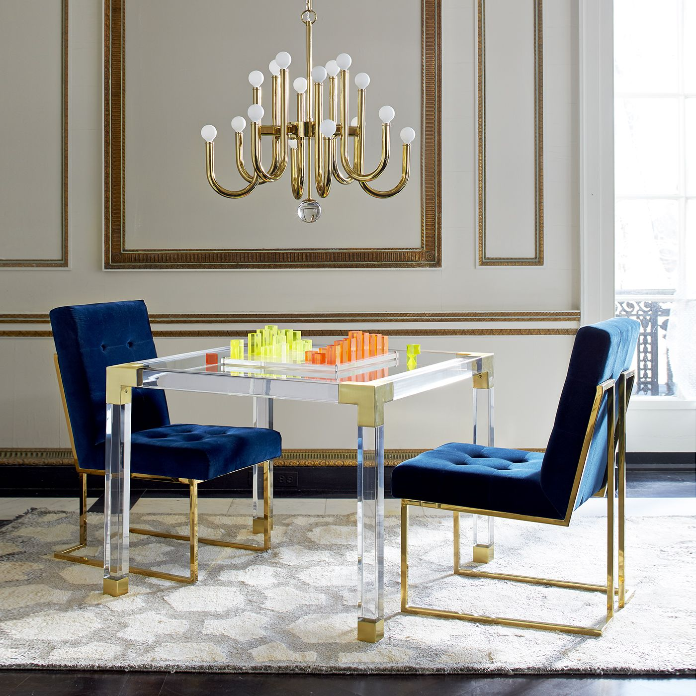 If Only I Had K Lying Around Jacques Jacques Game Table By - Board game dining room table