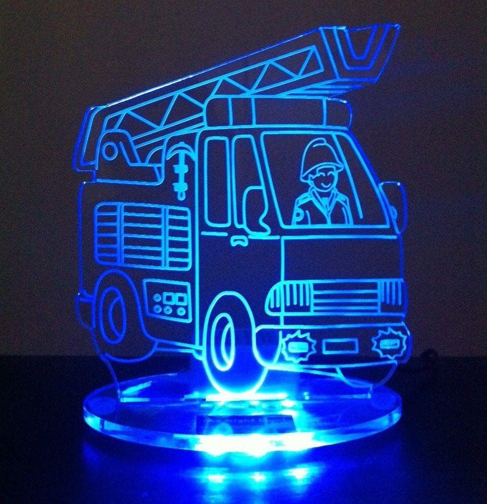 Fire Engine Led Night Light