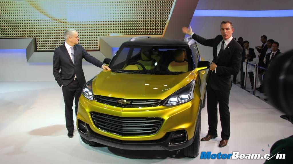 Chevrolet S Upcoming Compact Suv For India Codenamed Gem B Suv