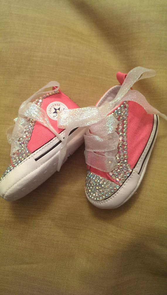 1fcaa168433a7f Bling Baby Converse on Etsy