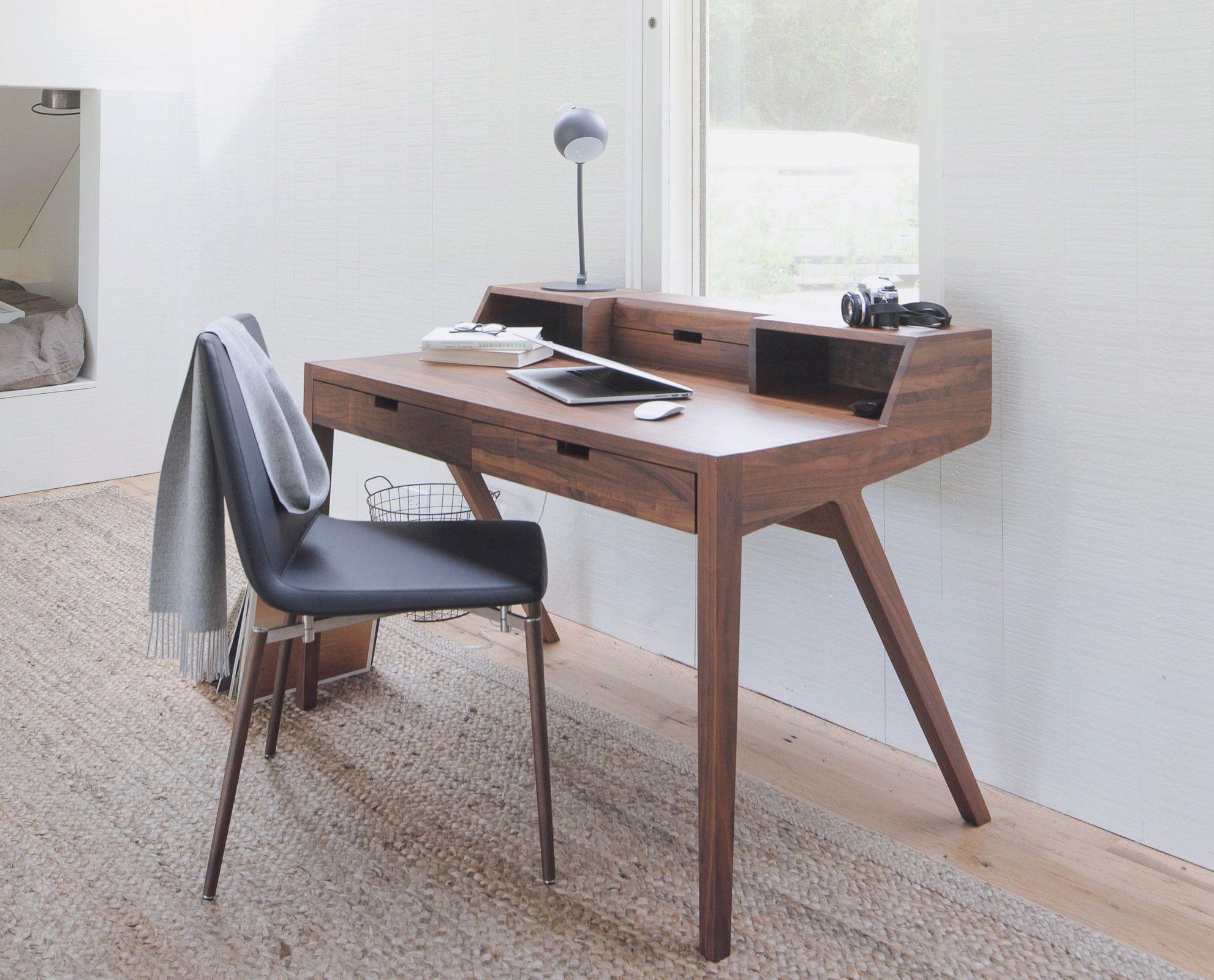 Abroma Desk By Scandinavian Designs Instill A Scandinavian