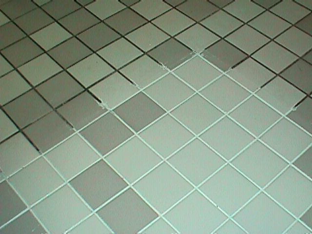 Grout cleaner; 7 cups water, 1/2 cup baking soda, 1/3 cup lemon juice and 1/4 cup vinegar.
