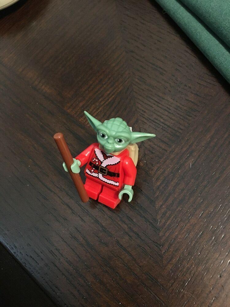 Santa Yoda X-Mas Advent Figur Minifig 7958 Weihnachts Yoda LEGO Star Wars