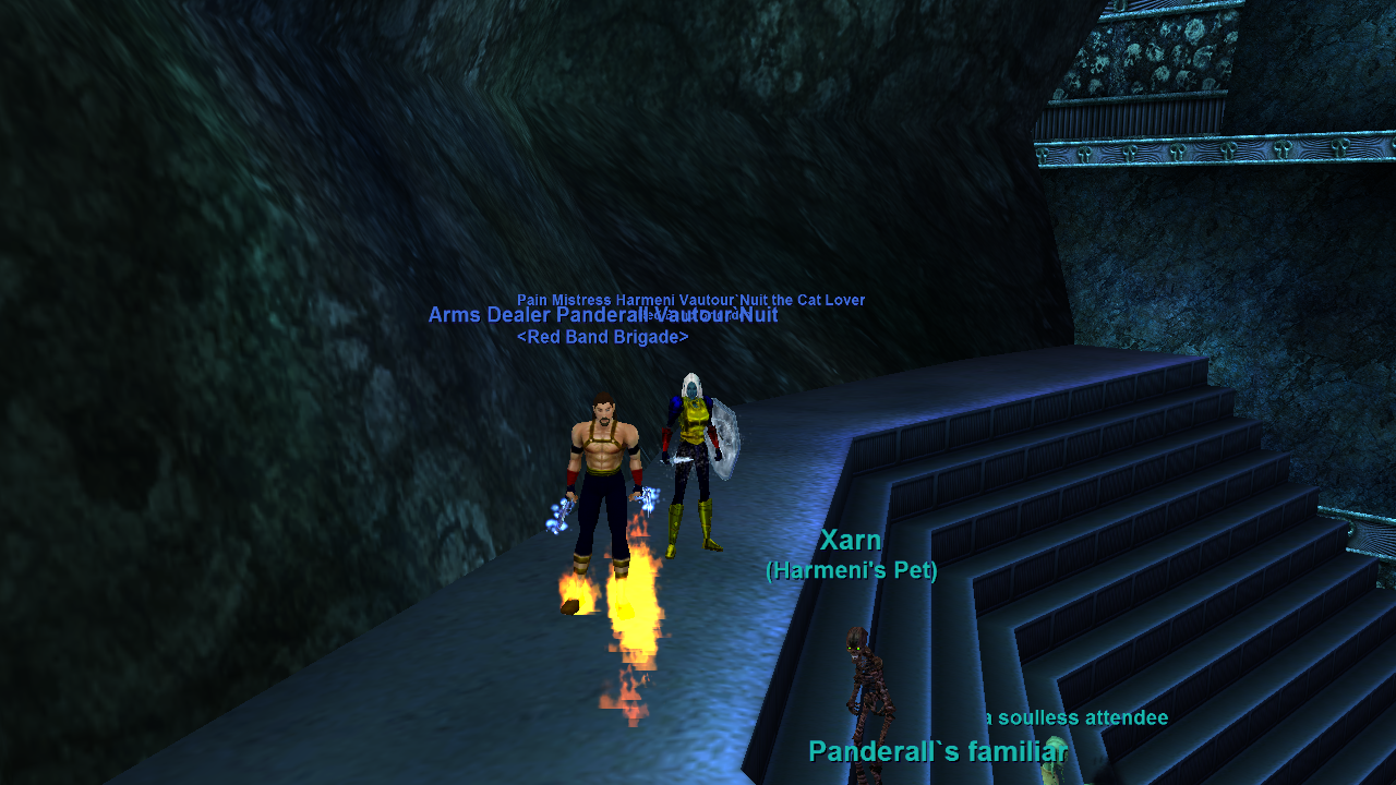 Myself & a friend in EverQuest! Level 100 | Monk & Shadow
