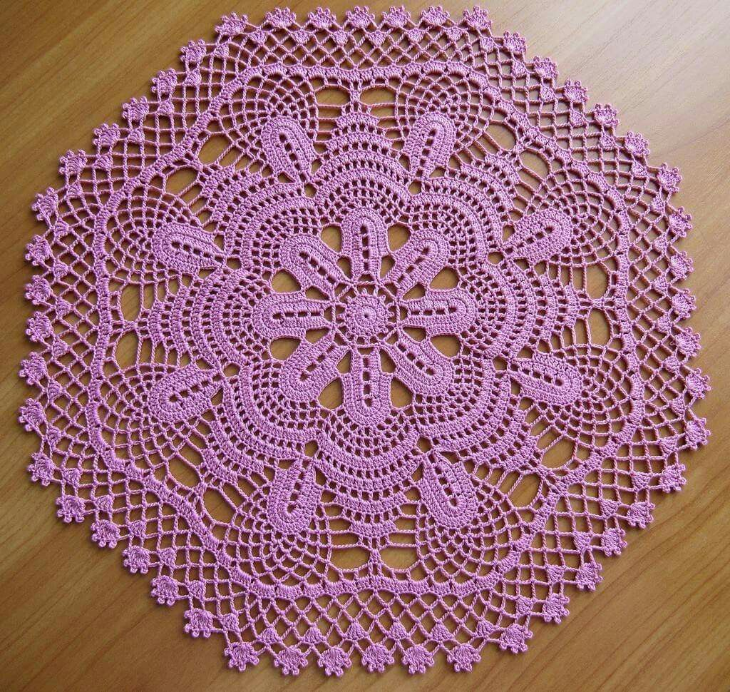 Pin by kesmat maher on coloured doilies | Pinterest | Crochet ...