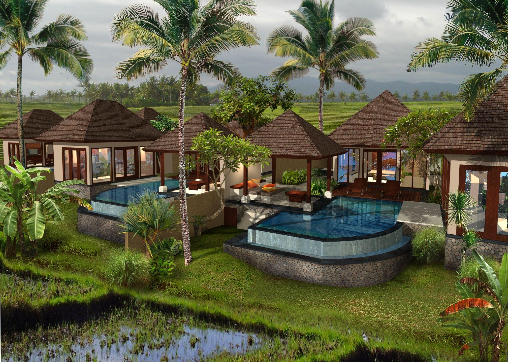Desain Villa Pinggir Pantai