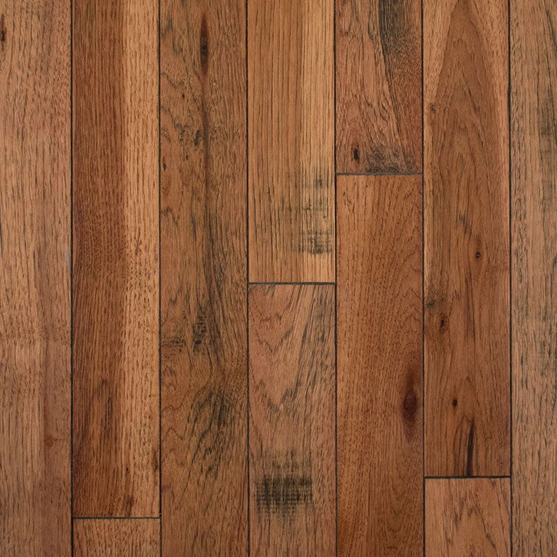 Clearance Bruce Solid Abc Rustic Smooth Hickory Honey Grove 3 4 X 3 1 4 22 Sf Ctn Solid Wood Flooring Wood Floors Plus Hickory Flooring