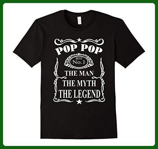 ecb5ff3ace585 Mens Pop Pop The Man The Myth The Legend Shirt Dad Grandpa tshirt 3XL Black  - Relatives and family shirts ( Amazon Partner-Link)