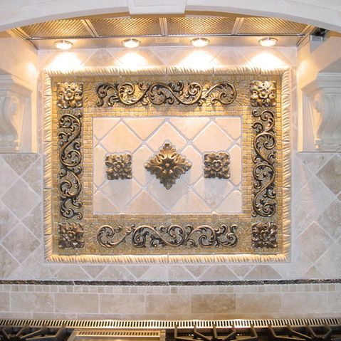 Superieur Kitchen Backsplash Mosaic And Metal Accent Mural   Looking To Transform  Your Kitchen. Our Collection