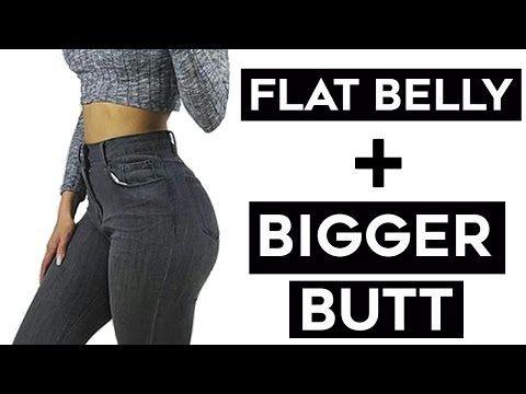 f2a5a471b5 ❤️How To Get A Flat Stomach + Bigger Butt