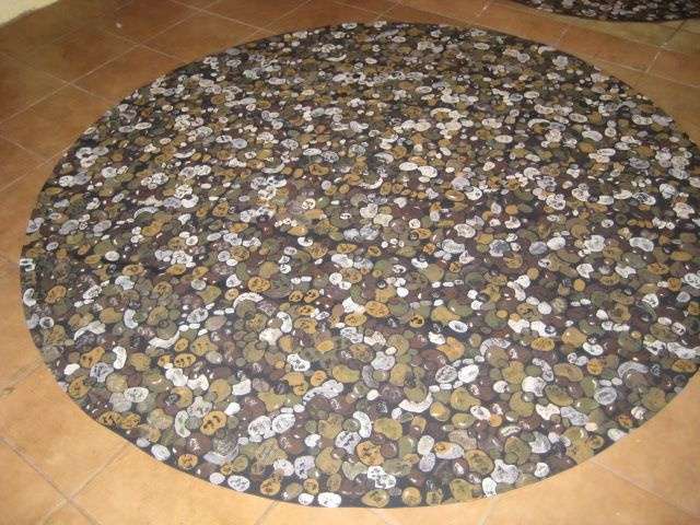 river rock rug - rugs ideas