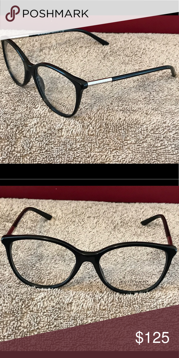 f486fc869d8 Authentic Burberry Eyeglass Frames Black Burberry Accessories Glasses