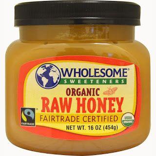 منتجات العسل العضوي وعسل مانوكا غذاء ملكات النحل في موقع آي هيرب لمرضى السكر Wholesome Sweeteners Organic Raw Honey Raw Honey