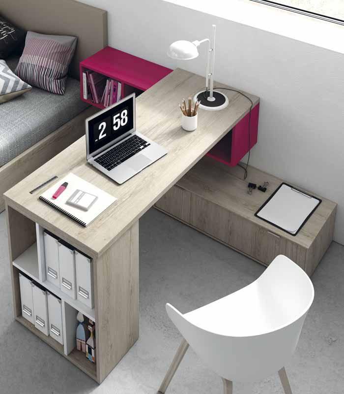 escritorio juvenil original cuenta con espacio para almacenaje esto ayudar au