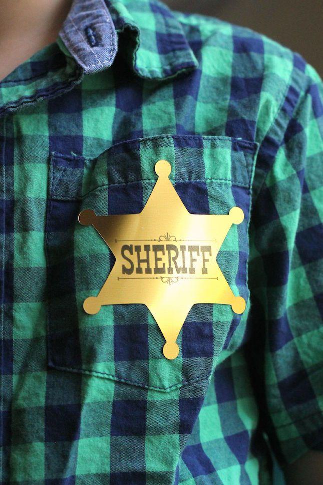 Sheriff Badge Stickers Tutorial | Analisa Murenin for Silhouette