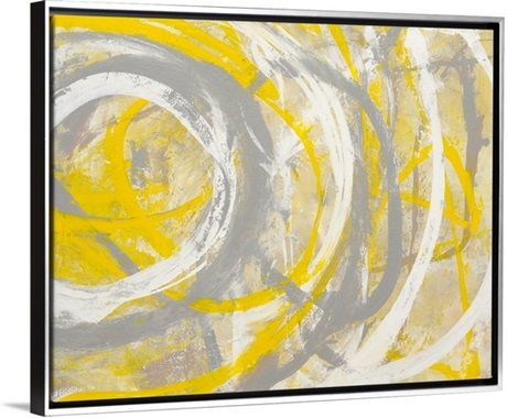 Yellow Aura | Auras, Canvases and Paintings