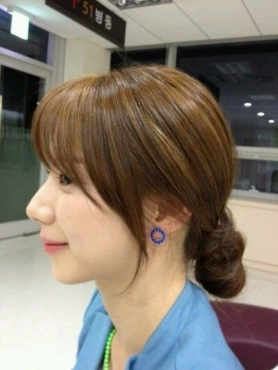 See Through Bang Hair Side Hairstyles In 2019