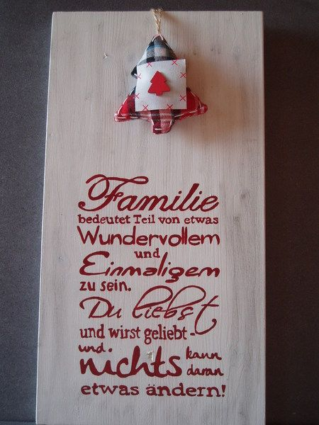 shabby chic schild familie holz von sternschnuppes basteleck auf spr che. Black Bedroom Furniture Sets. Home Design Ideas