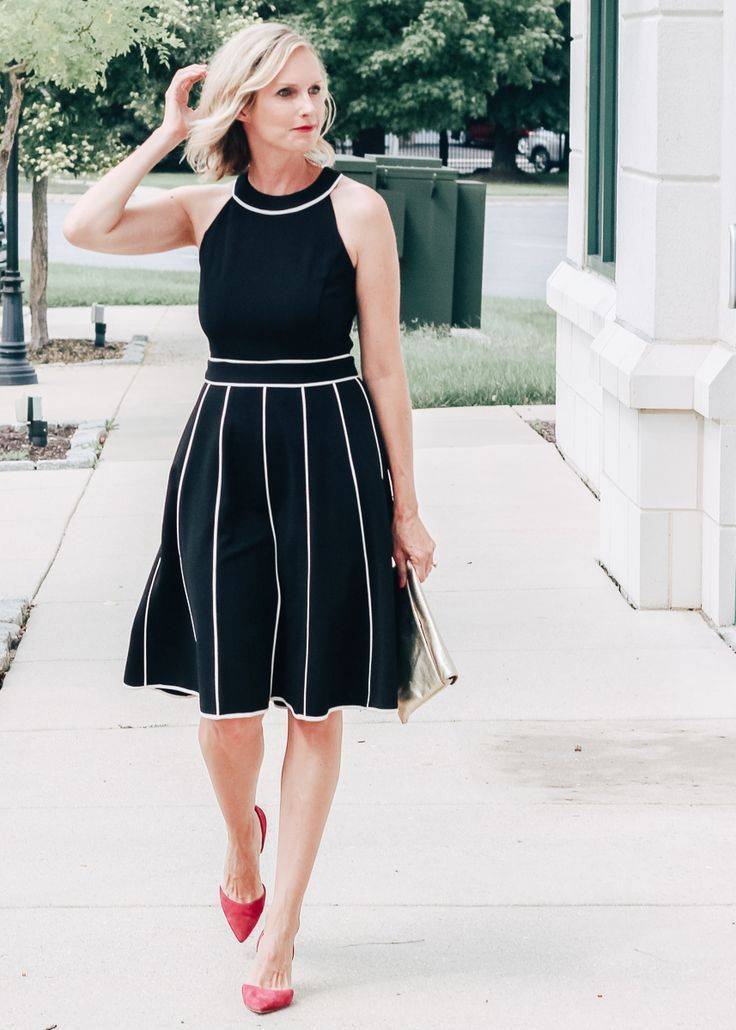 SOMETIMES YOU HAVE TO WEAR A FANCY DATE NIGHT DRESS #datenightoutfit A fancy Date Night Dress. An ultra flattering and versatile jersey crepe dress, perfect for many occasions. | date night outfit ideas, modest fashion, fall fashion, office attire, work outfit ideas, #datenightoutfit