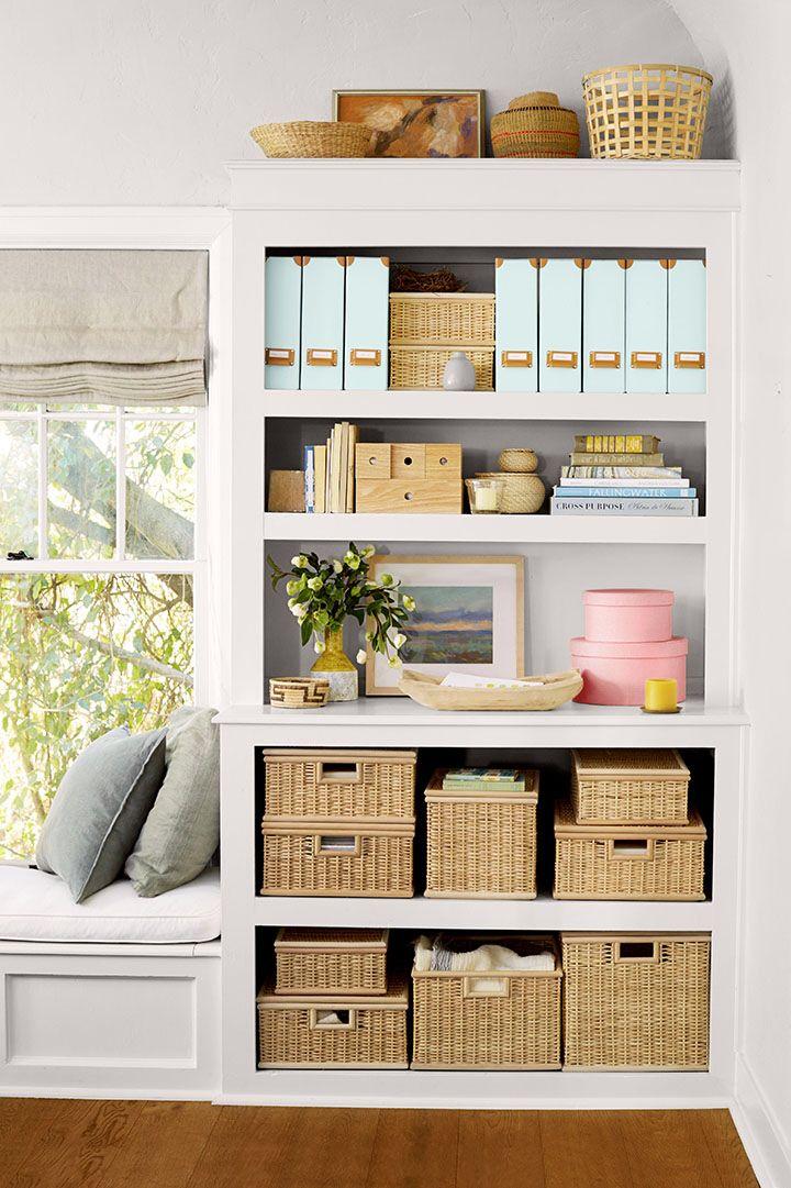 Shelf Storage Organization Ideas Bookshelves In Bedroom Organization Hacks Bedroom Home Decor