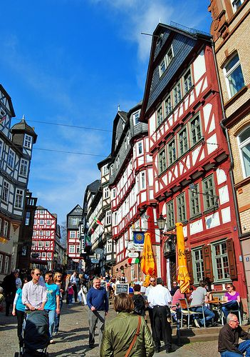 Colourful Marburg