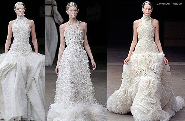alexander mcqueen wedding gowns | couture | Pinterest | McQueen ...