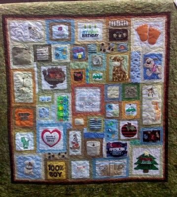 baby clothes quilt | Quilt from baby clothes | Quilts, Quilts, Quilts