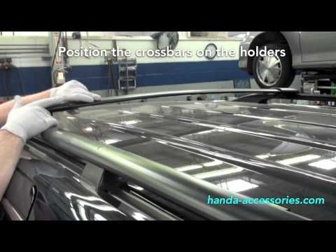 Honda Odyssey Cross Bars Roof Racks 2005 2010 Asg Auto Sports Honda Odyssey 2010 Honda Odyssey Honda