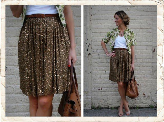skirt glam