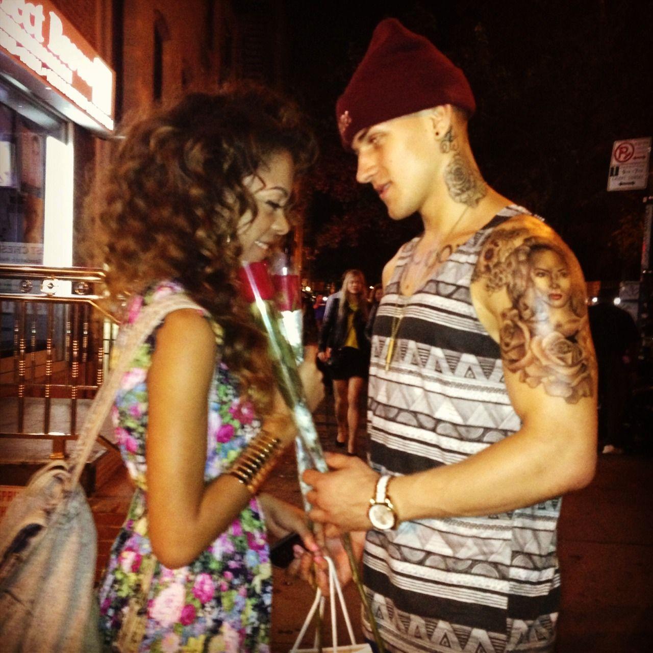 white guy dating brown girl