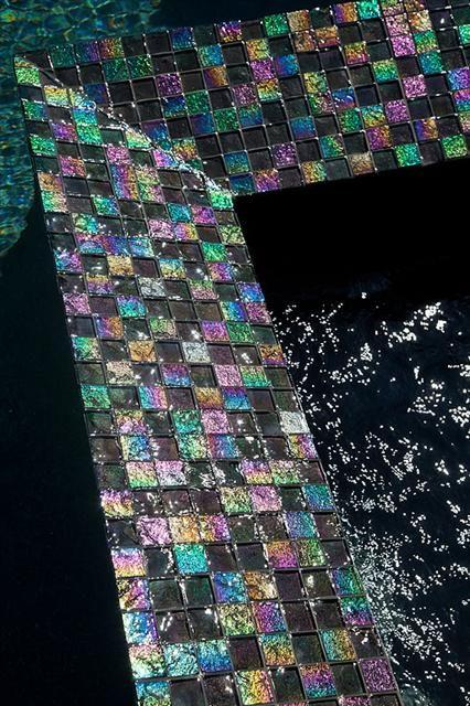 Light Stream Glass Tile Lightstreams Glass Pool Tile
