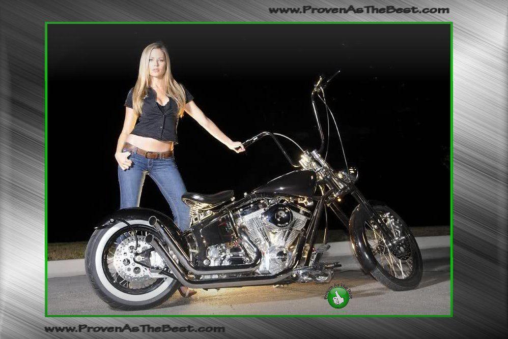 Models chopper girls motorcycle