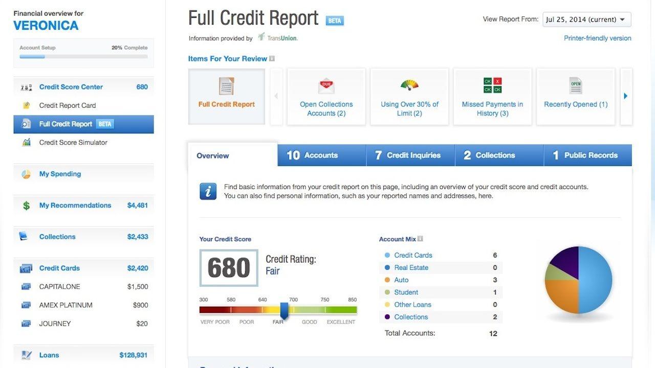 Credit Karma Offers Free Weekly Credit Reports And Monitoring Credit Karma Credit Card App Good Credit