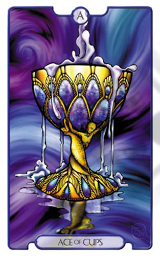 Ace of Cups -- Revelations Tarot