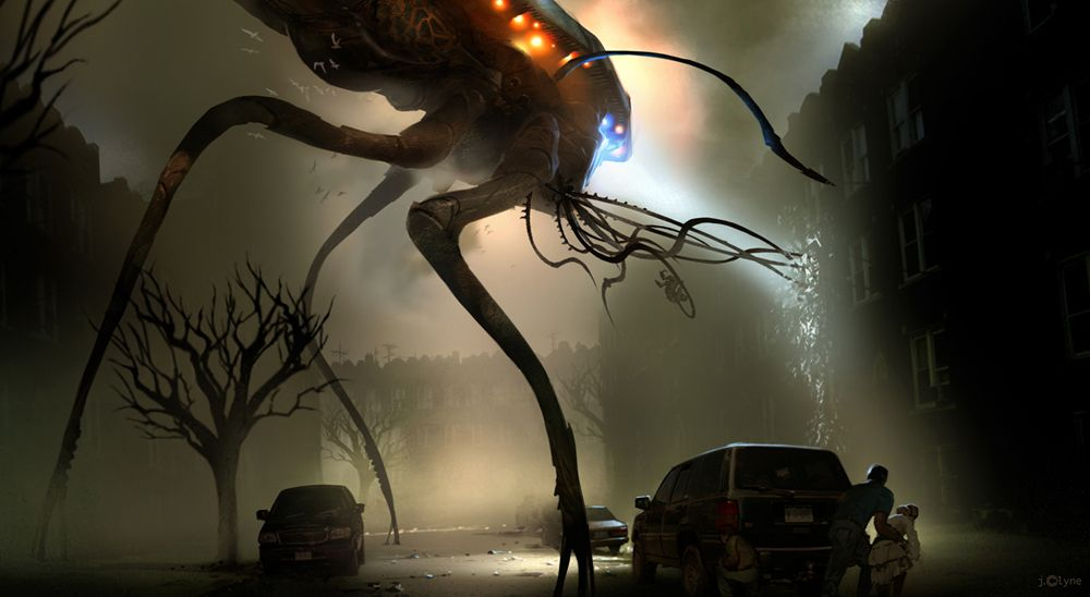 war of the worlds 2005 concept art by james clyne art