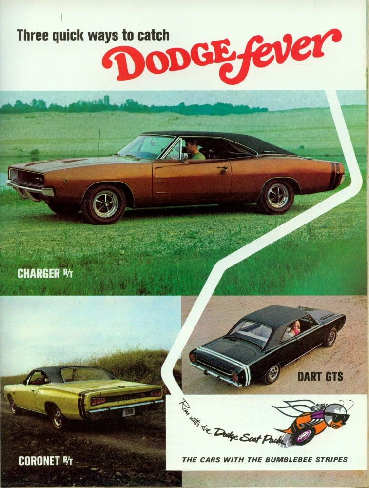 1968 Dodge Fever ad