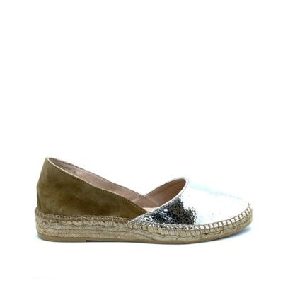 GAIMO SS15 Alba Leather Low Wedge Espadrille | Spanish Fashion - SPANISH SHOP ONLINE | Spain @ your fingertips