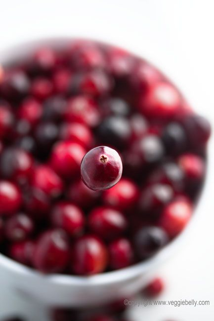floating cranberry