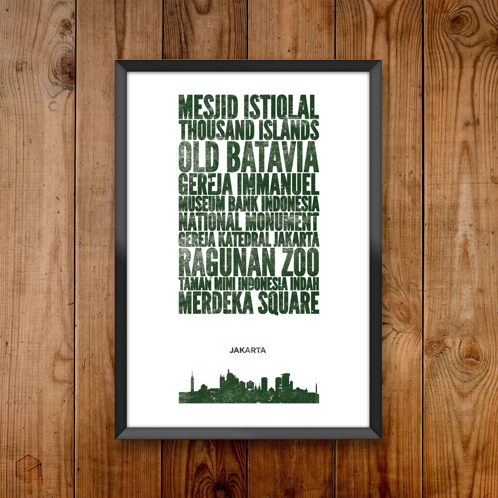 Jakarta City Print