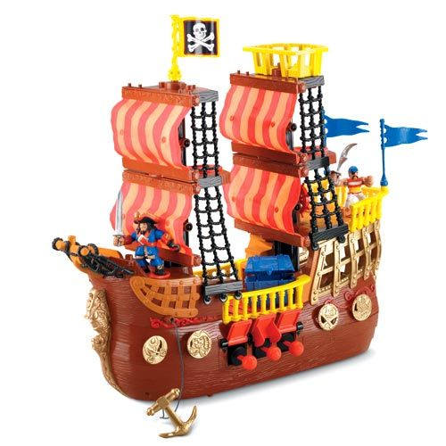 Pirate Toys For Boys : Imaginext pirate ship we enjoy s fisher