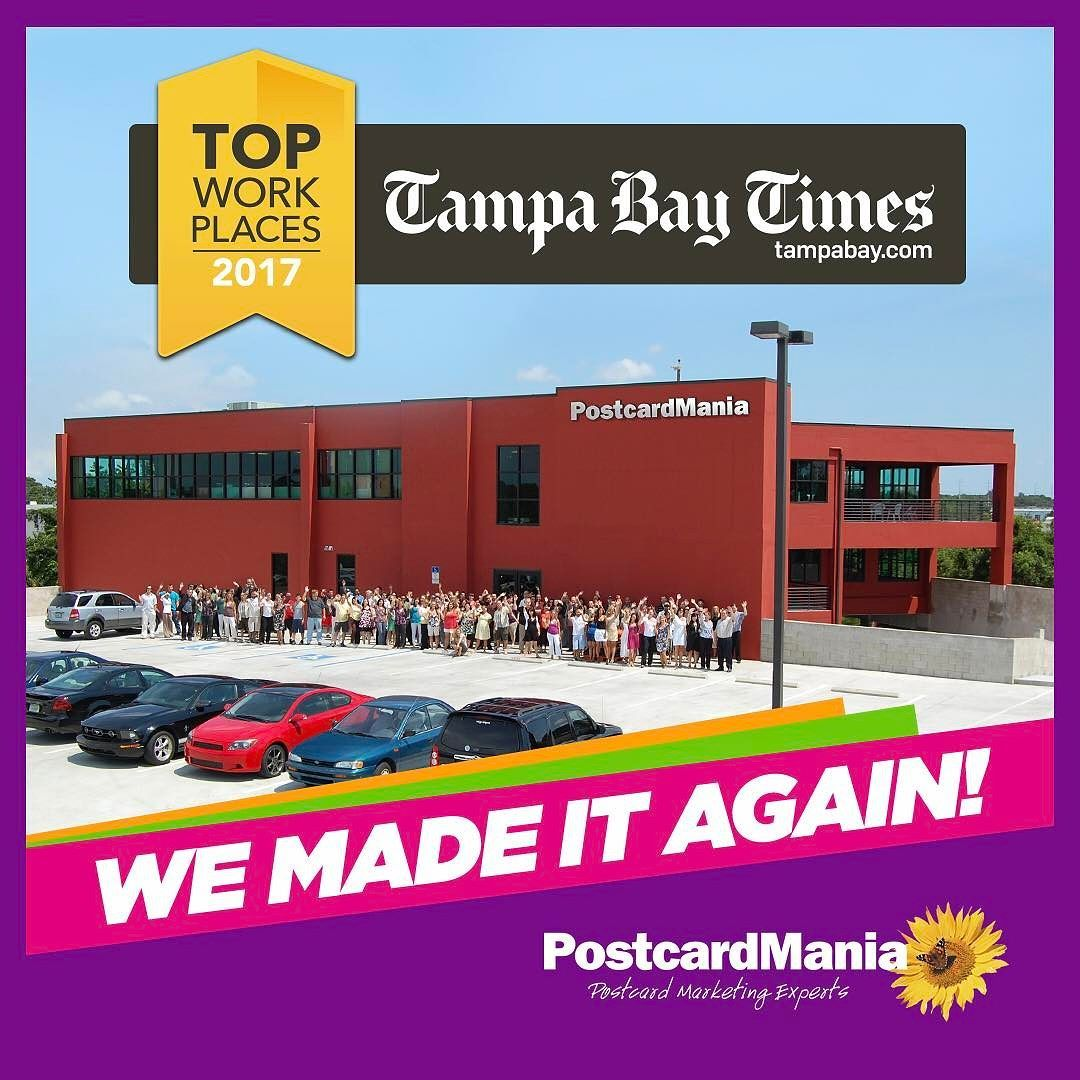 Exciting news postcardmania made the tampa bays top
