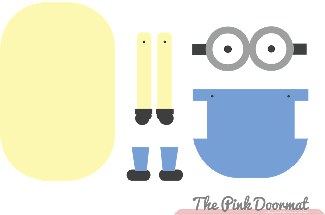 picture about Printable Minion Template titled minon practice the minion pattern edit i designed a printable