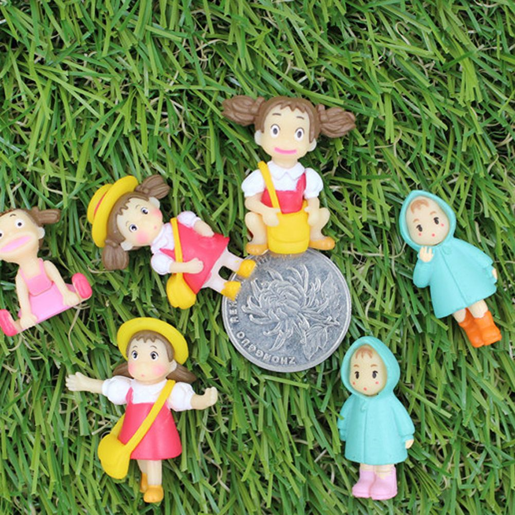pc mini xiaomei girl ornaments toys fairy garden miniature gnome