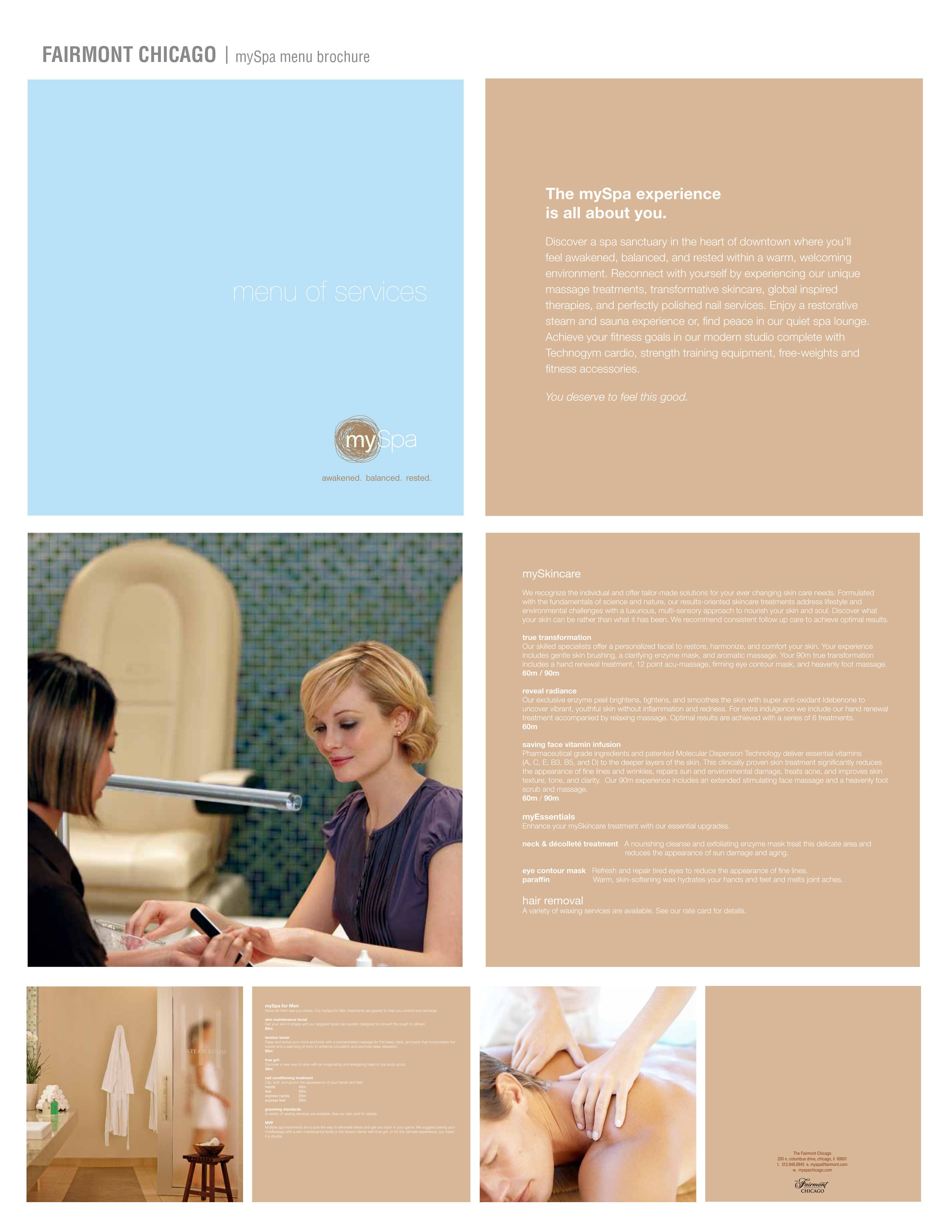 Spa Brochure Design  Design    Brochures